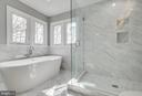 Soaking Tub and Separate Shower - 4257 MOOT DR, DUMFRIES