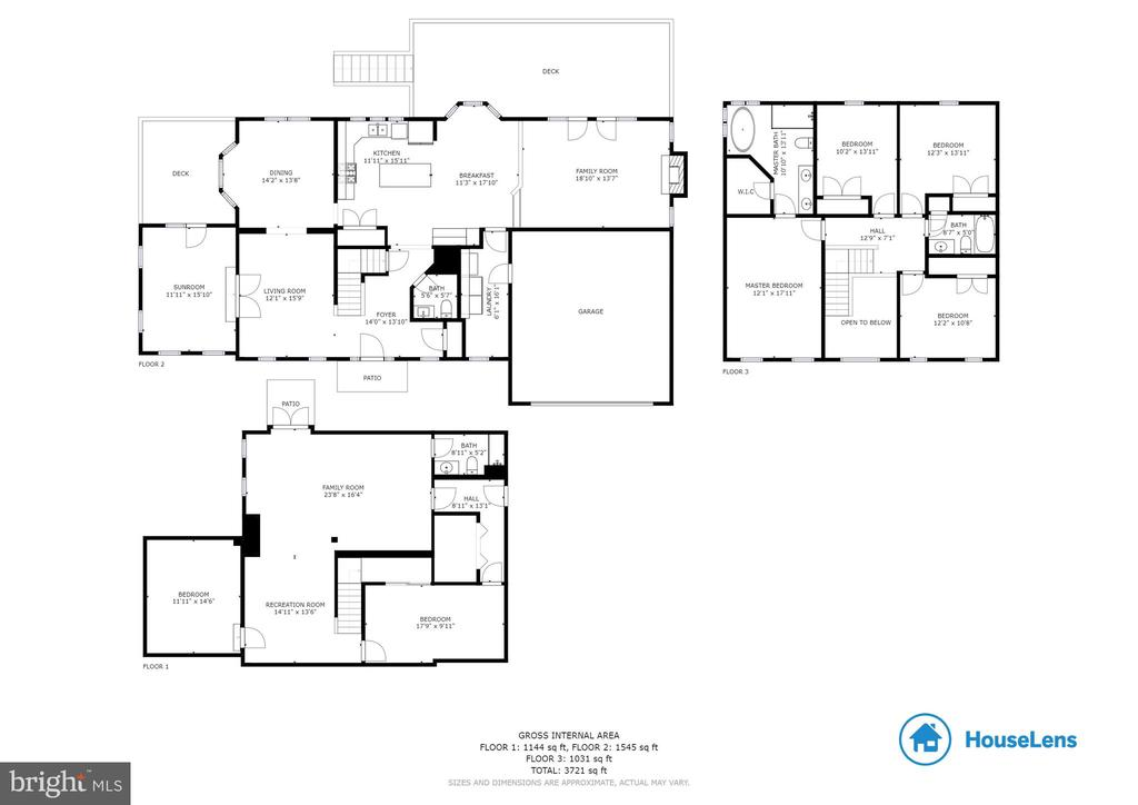 House Floor Plan - 4257 MOOT DR, DUMFRIES