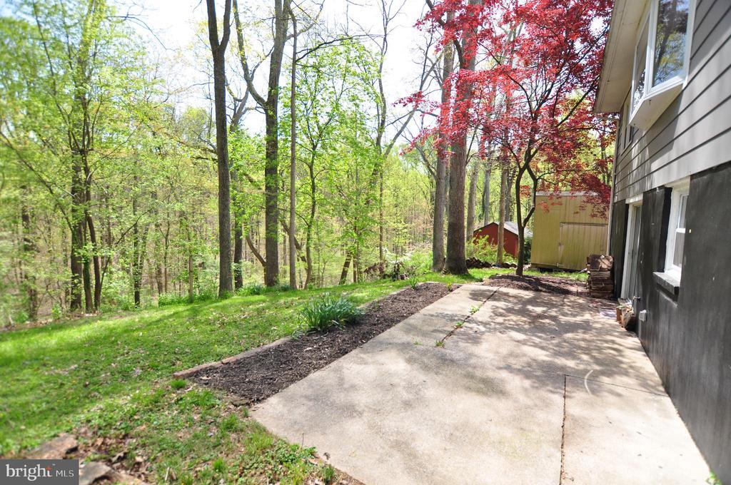 Backyard Woods! - 4311 WENDY CT, MONROVIA