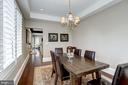 breakfast room doubles as office, school space - 6537 36TH ST N, ARLINGTON