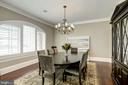 arched window, deep sill, accent lighting - 6537 36TH ST N, ARLINGTON