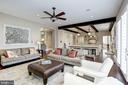 comfortable seating areas for gatherings - 6537 36TH ST N, ARLINGTON