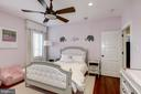 4th bedroom with wood floors, recessed lighting - 6537 36TH ST N, ARLINGTON