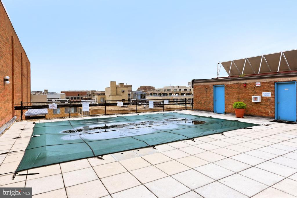 Roof Top Patio and Pool with Stunning Views - 1718 P ST NW #802, WASHINGTON