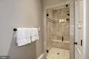 oversized shower and linen closet  in 5th bath - 6537 36TH ST N, ARLINGTON