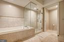 Separate Shower, Separate Tub, Separate Water Room - 4901 HAMPDEN LN #306, BETHESDA