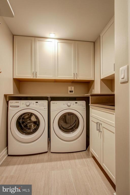 Your Laundry Room with Full Size W/D, and Sink - 4901 HAMPDEN LN #306, BETHESDA