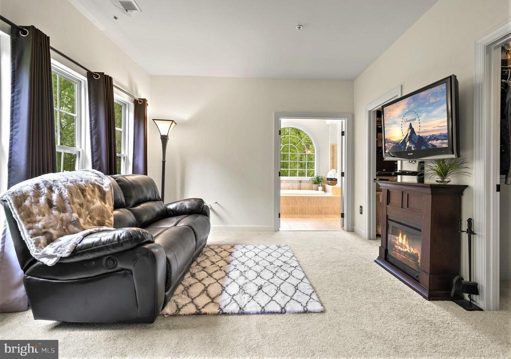 Master Bedroom sitting area - 5442 EAGLE OWL CT, WALDORF
