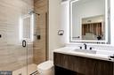 Luxury bath using Porcelanosa - 801 N NW #303, WASHINGTON