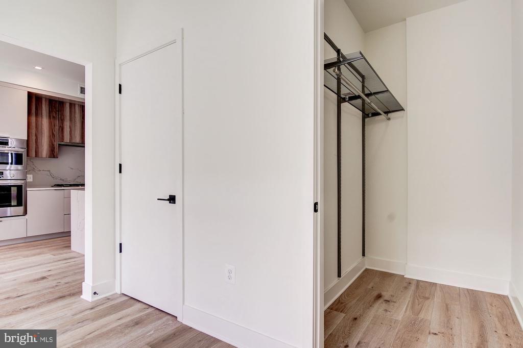 Walk in bedroom closet - 801 N NW #303, WASHINGTON