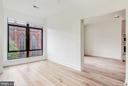 Views and natural light from the bedroom, too - 801 N NW #303, WASHINGTON