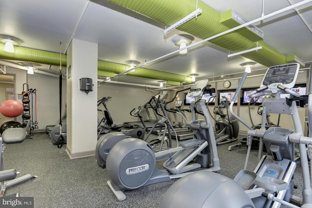 Numerous cardio machines - 1021 N GARFIELD ST #409, ARLINGTON