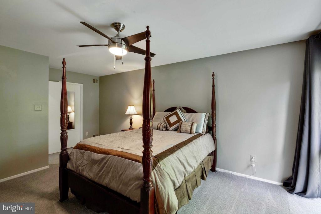 Master Bedroom Suite w/ Walk in closet - 6505 CRAYFORD ST, BURKE