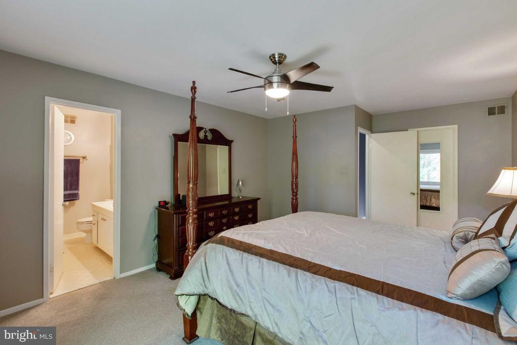 Master Bedroom Suite w/ Private bath - 6505 CRAYFORD ST, BURKE