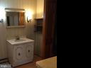 Bathroom 1st Floor - 411 N MAPLE AVE, BRUNSWICK