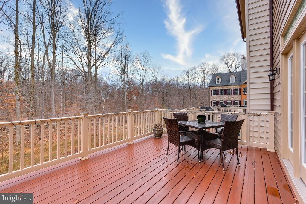 Private Back Deck With View of the Woods - 148 MERRIMACK WAY, ARNOLD