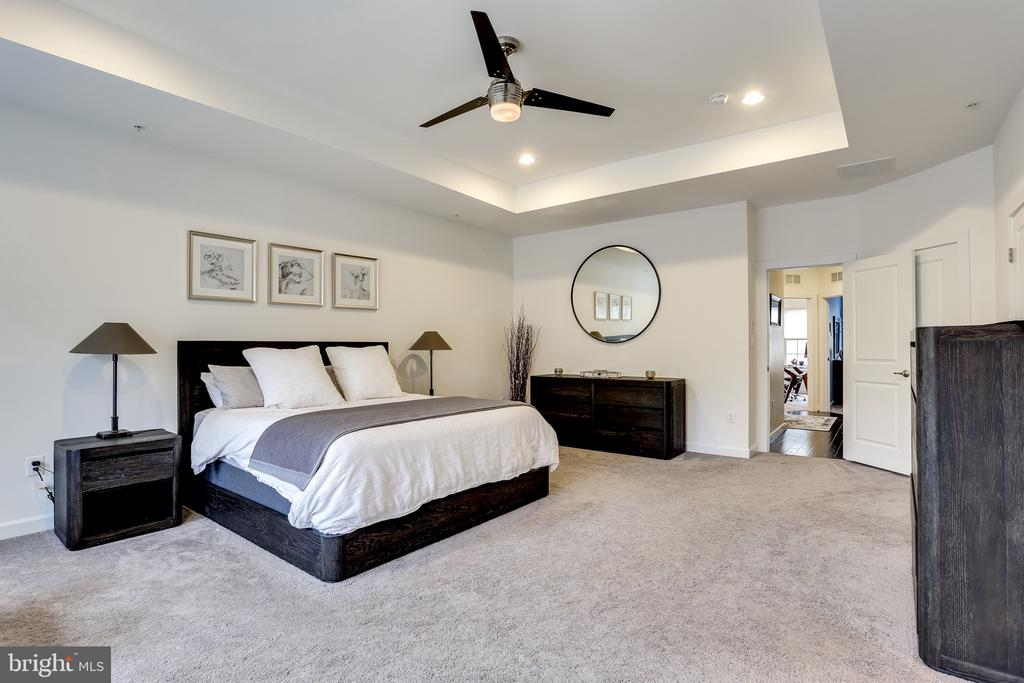 Large Master Bed with Trey Ceilings - 148 MERRIMACK WAY, ARNOLD