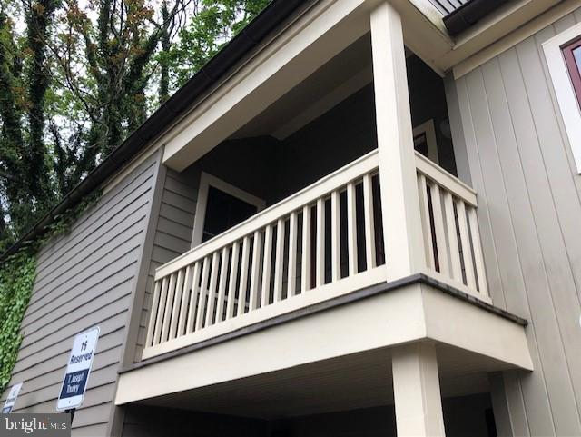 Master Covered Deck - 114 SOUTH ST, ANNAPOLIS