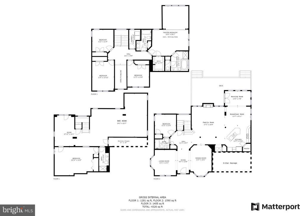 House floorplans - 43262 LECROY CIR, LEESBURG