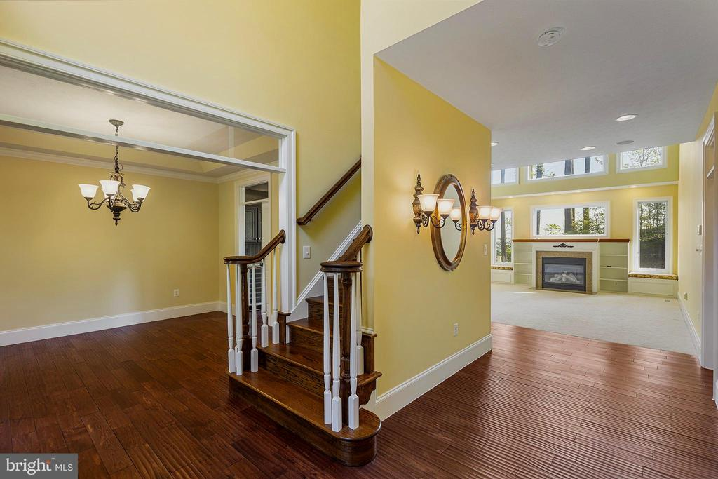 Beautiful flooring entryway and dining room - 825 CAMP CONOY RD, LUSBY