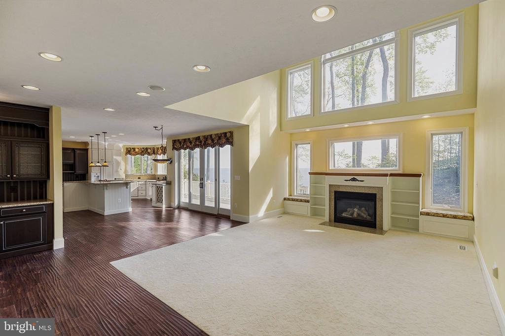 Impressive open great room and kitchen - 825 CAMP CONOY RD, LUSBY