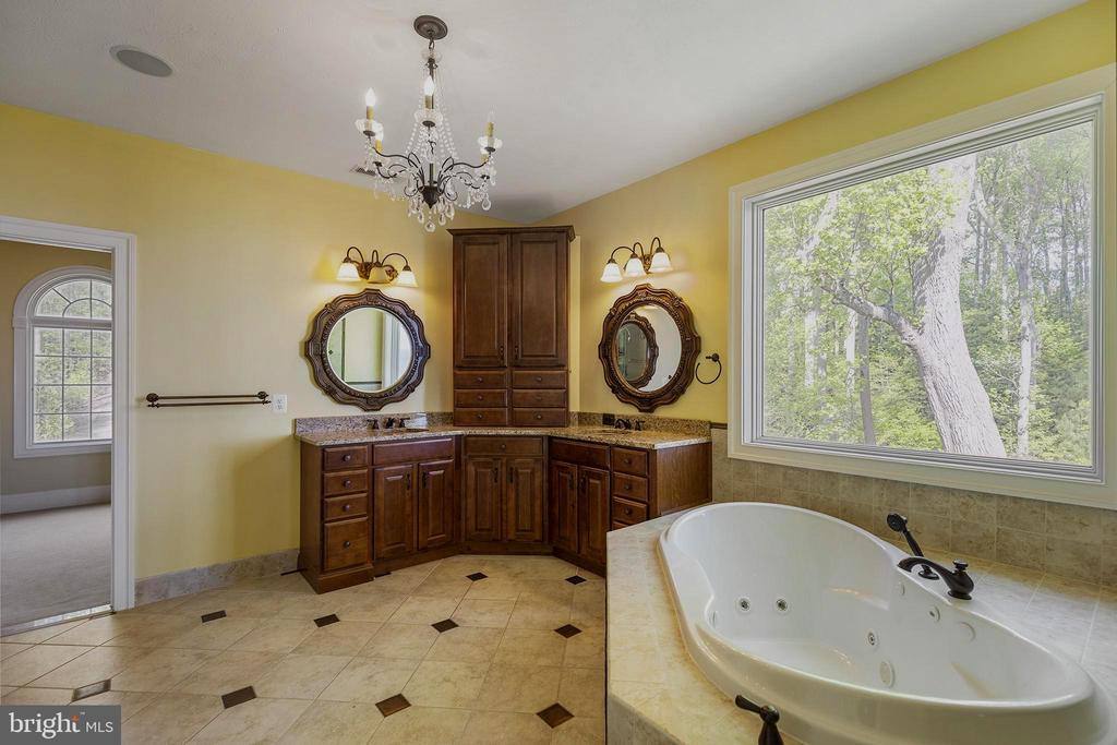 MBR bath-soaking tub , double vanities, sep shower - 825 CAMP CONOY RD, LUSBY