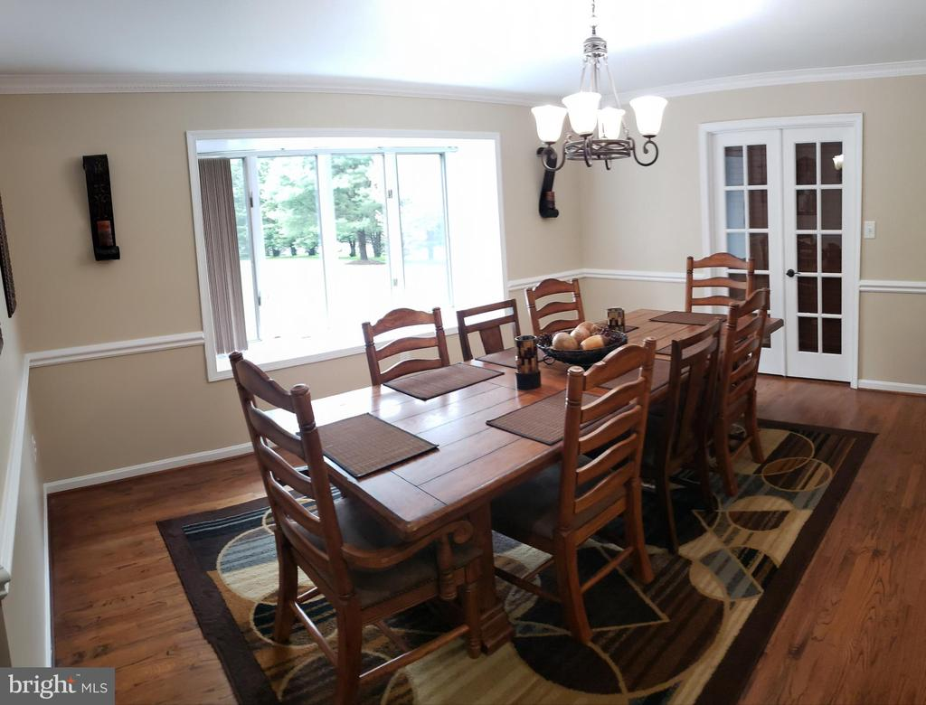 Dining Room With Box Bay Window - 2714 JAY BIRD CT, KNOXVILLE
