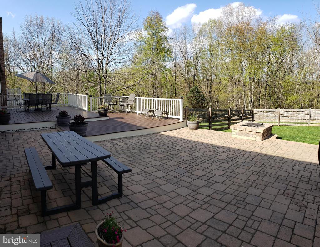Paver Patio and Tiered Composite Deck - 2714 JAY BIRD CT, KNOXVILLE