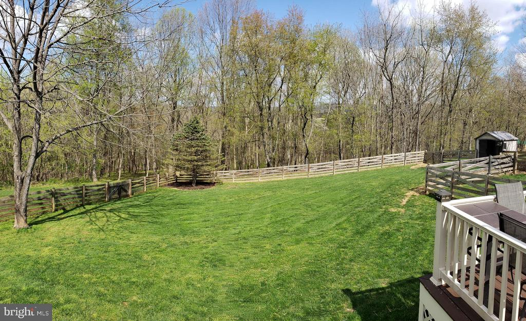 Private Fenced Rear Yard w/ Shed - 2714 JAY BIRD CT, KNOXVILLE