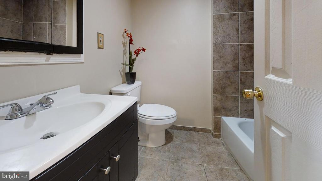Bathroom (lower level - view 3) - 7023 INDEPENDENCE ST, CAPITOL HEIGHTS