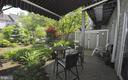 Rear patio with awning. - 13 JEREMYS WAY, ANNAPOLIS