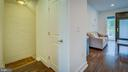 Stairs to Lower Level/Living Room - 4314 14TH ST NW #B, WASHINGTON