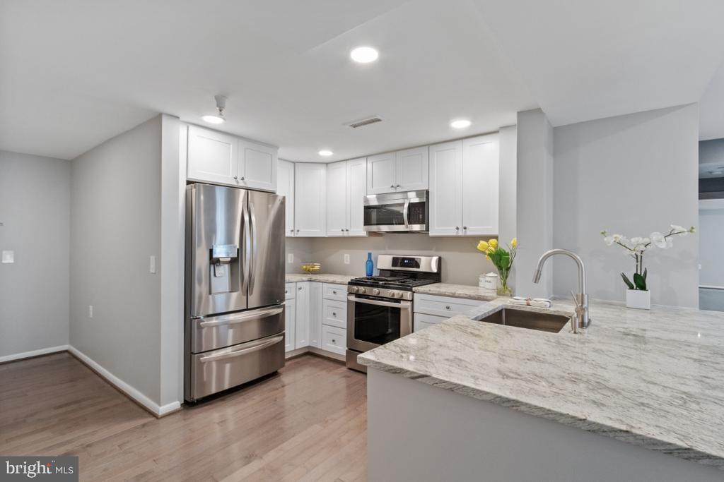 Gorgeous Remodeled Kitchen - Stainless steel - 350 G ST SW #N224, WASHINGTON