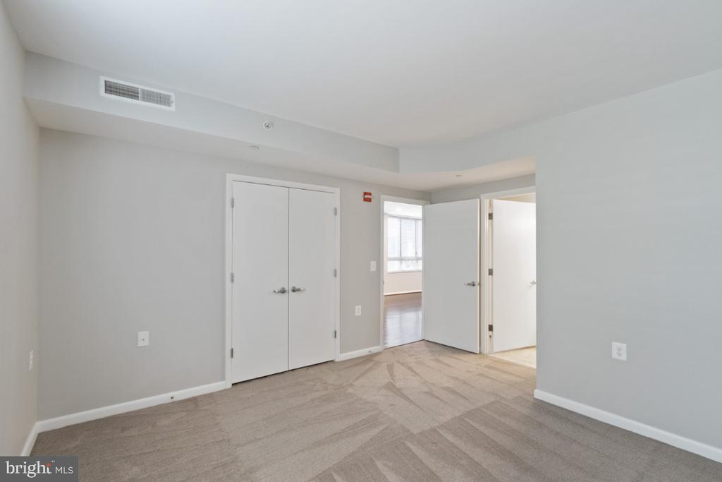 Master Bedroom looks out over the pool - 350 G ST SW #N224, WASHINGTON