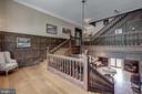 Main staircase - 12600 JARRETTSVILLE PIKE, PHOENIX