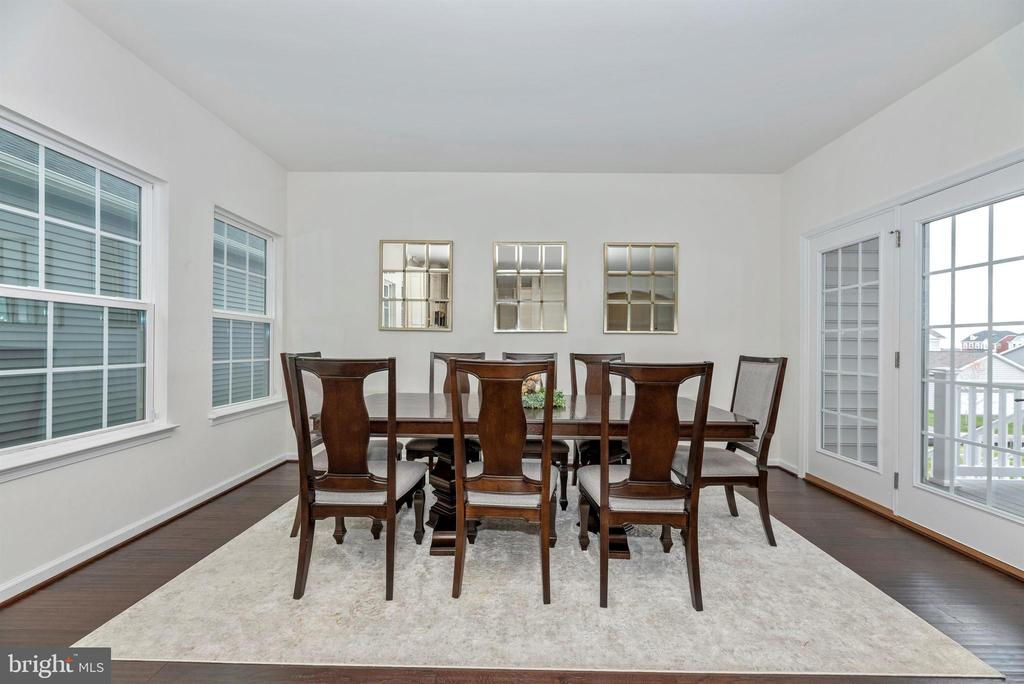 French Doors Lead You to the Deck - 811 JEFFERSON PIKE, BRUNSWICK