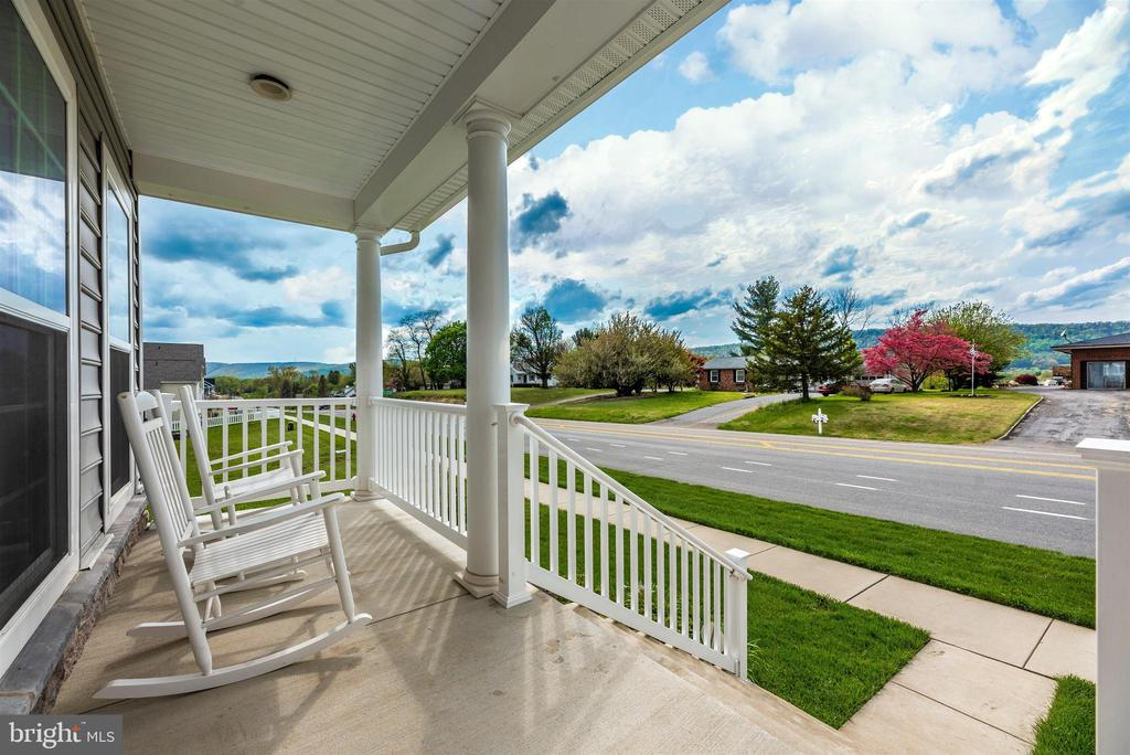 Take in Beautiful Views from Front Porch - 811 JEFFERSON PIKE, BRUNSWICK
