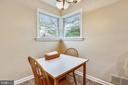 Breakfast nook - 3340 HIGHWOOD DR SE, WASHINGTON