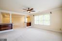 Master Bedroom with Sitting Room Area - 11903 POWDER MILL CT, SPOTSYLVANIA