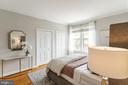 South facing master bedroom suite - 1827 FLORIDA AVE NW #401, WASHINGTON