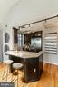 Granite counter breakfast bar - 1827 FLORIDA AVE NW #401, WASHINGTON