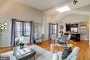 Oversized windows flood the space with sunlight - 1827 FLORIDA AVE NW #401, WASHINGTON