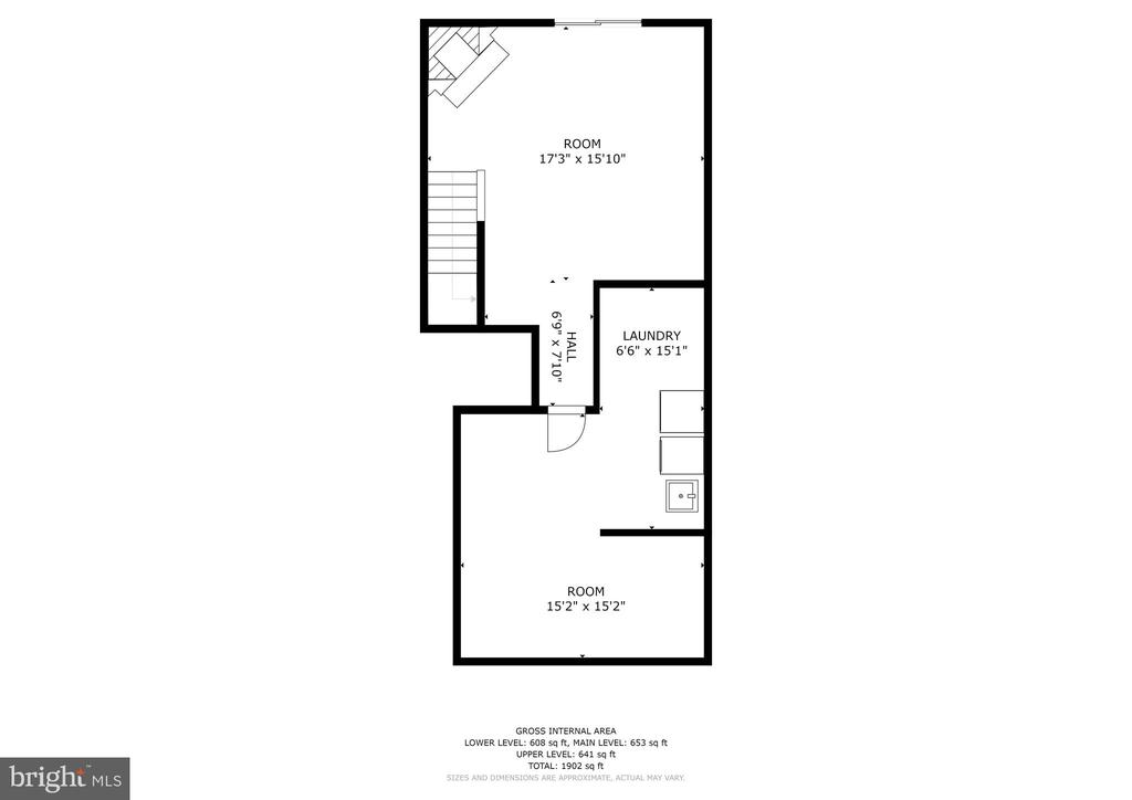 Lower Level Floor Plan - 8405 GLAD RIVERS ROW, COLUMBIA