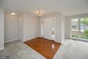 Hardwood Foyer entry accent; Brand new carpeting - 228 YORKTOWN BLVD, LOCUST GROVE
