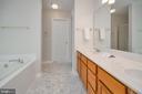 Master Bath-New Vanity top arrives soon - 228 YORKTOWN BLVD, LOCUST GROVE