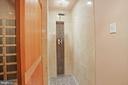 Full bathroom in the lower level. - 15929 BRIDLEPATH LN, PAEONIAN SPRINGS