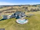 Pool and Tennis Court with lights! - 15929 BRIDLEPATH LN, PAEONIAN SPRINGS