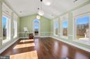 Yoga/Hobby room off master sitting room. - 15929 BRIDLEPATH LN, PAEONIAN SPRINGS