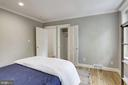 Great sized second bedroom - 1510 26TH ST NW, WASHINGTON
