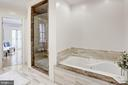Soaking tub and huge shower - 1510 26TH ST NW, WASHINGTON